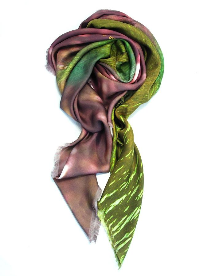 scarf from a friend of mine, limited edition, made in Italy. indulgence.