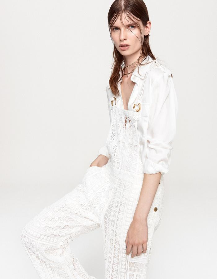 BOHO LUXE - French Lace Dungarees