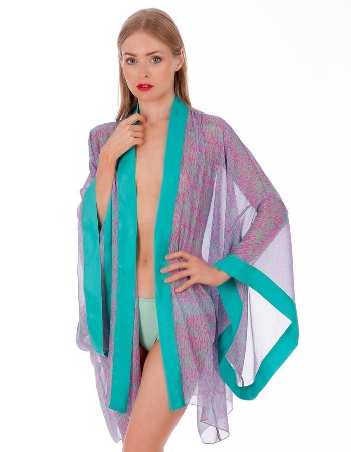 LizNehdi_DappledAegean_Kimono_silk_TurquoiseFuchsia
