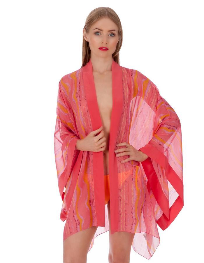 LizNehdi_EleutheraWaves_Kimono_silk_Coral