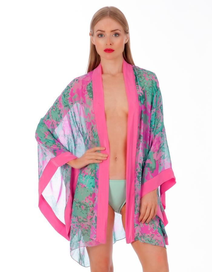 LizNehdi_LasataBloom_Kimono_silk_TurquoisePink
