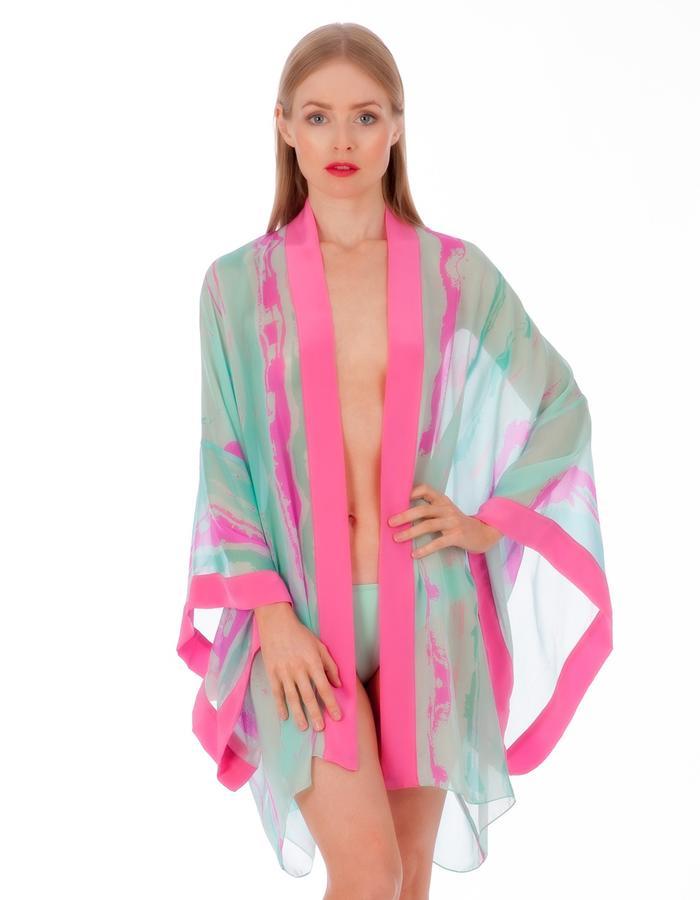 LizNehdi_Orianda'sWake_Kimono_silk_TurquoisePink