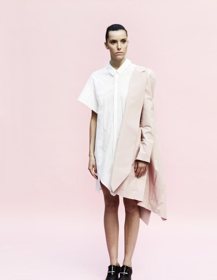 YOJIRO KAKE  SS Origami long jacket 100& Cotton, uni-sex shirt 100% Cotton