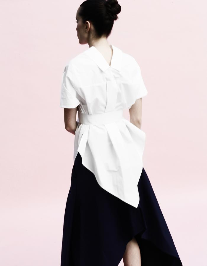 YOJIRO KAKE  SS Origami classic shirt 100% Cotton