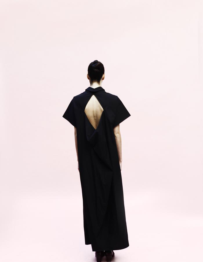YOJIRO KAKE  SS Origami long shirt 100& Cotton