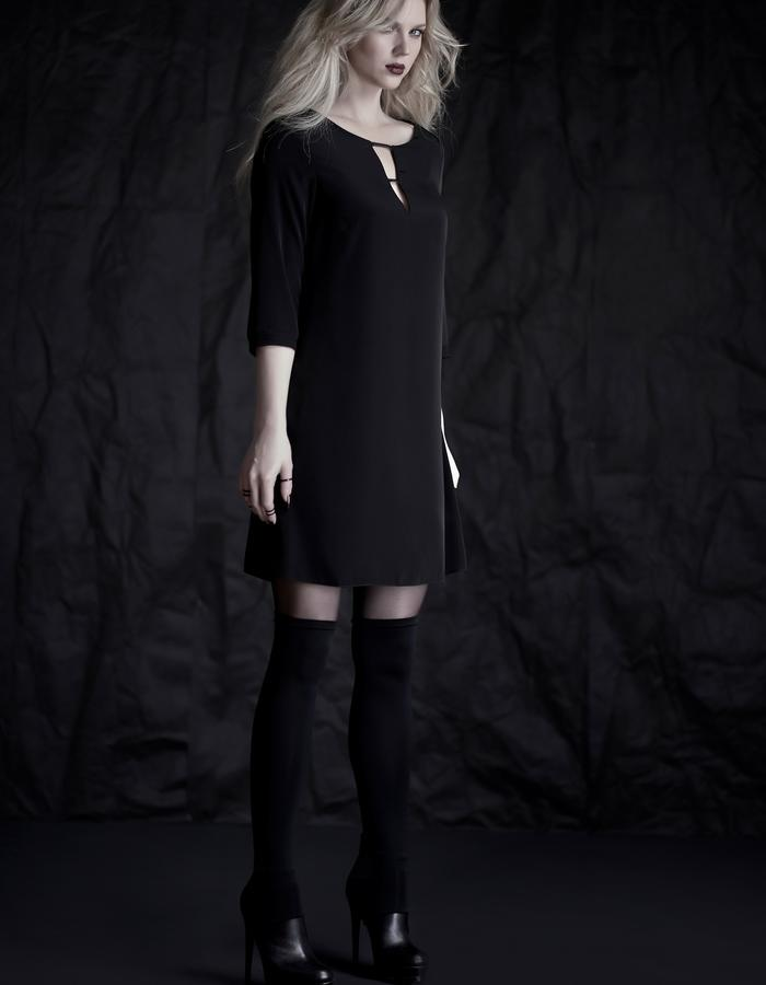 Martinet Noir black V-DRESS