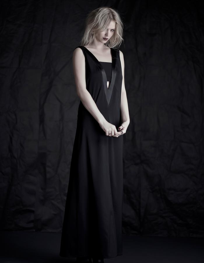 Martinet Noir MAXI DRESS