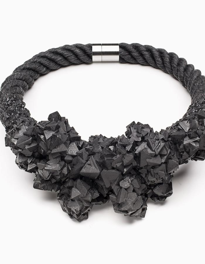 ZORYA DEMONS ARE FOREVER CRYSTALLIZED NECKLACE