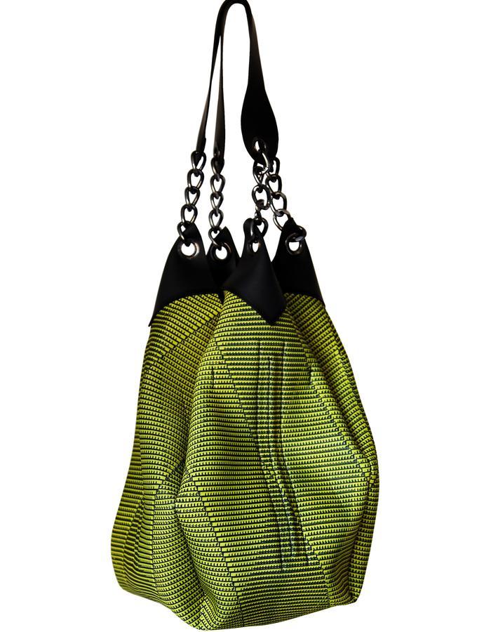"Eco neoprene+Natural rubber ""Sakoula romvoi"" tote bag"