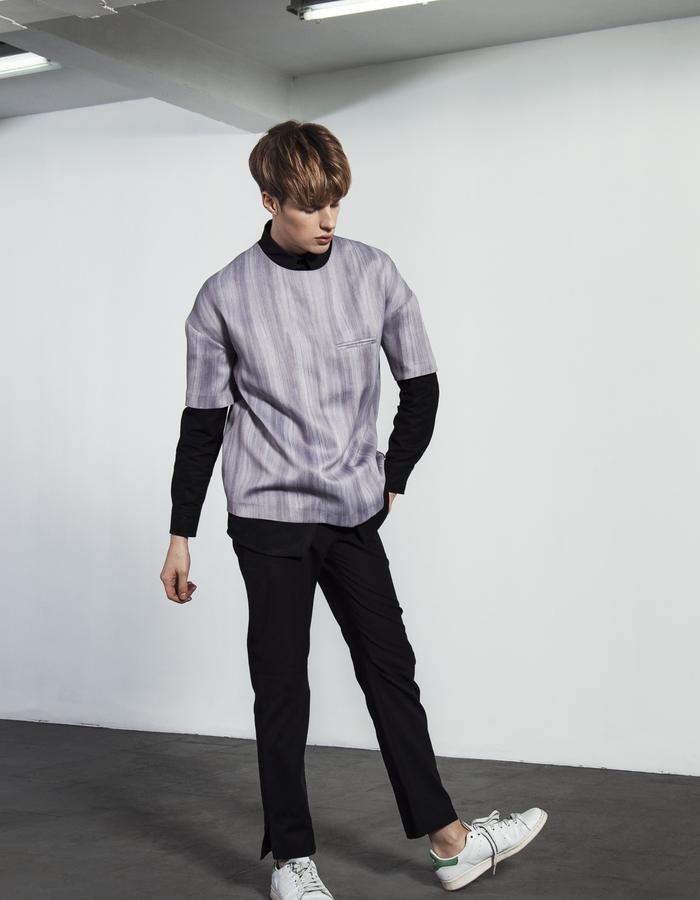 ERNO/T-Shirt + BERNAT BLACK/Shirt + LAZAR BLACK/Pants