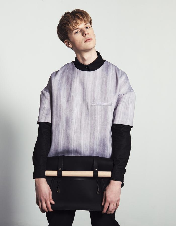 ERNO/T-Shirt + BERNAT BLACK/Shirt + LAZAR BLACK/Pants + HENRIK/Bag