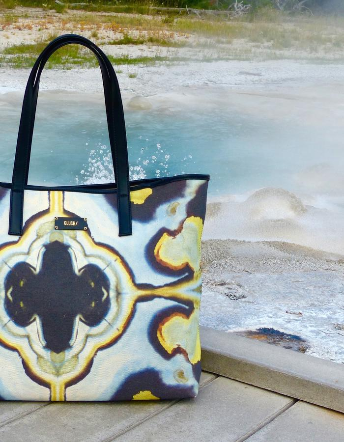 HARD RAYS Blue Weekend Tote