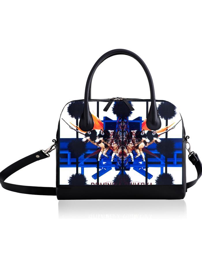 Dominika Swiacka Paradise Bowler Bag Blue