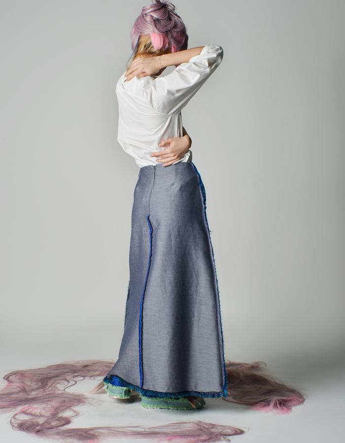 Maxi Skirt With Pocket Detail