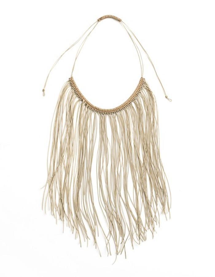 Charlotte Fringe Boho Necklace