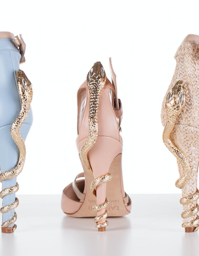 SNAKES heels