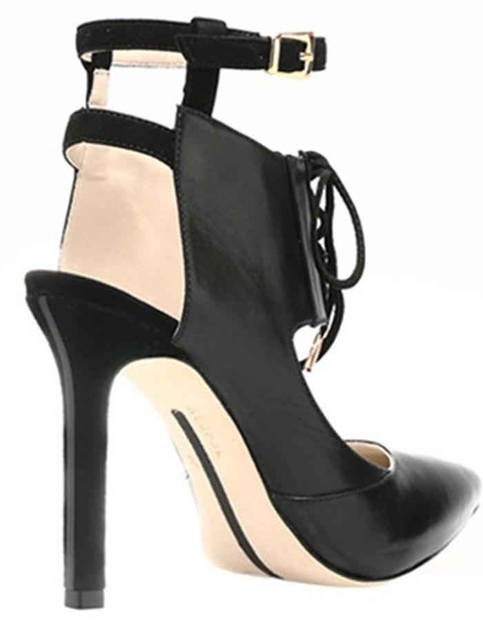 ALEPEL Chaine Pump Black - Perspective