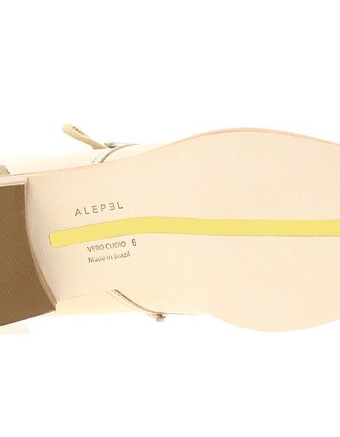 ALEPEL Kav Boot Beige/Gold - Sole