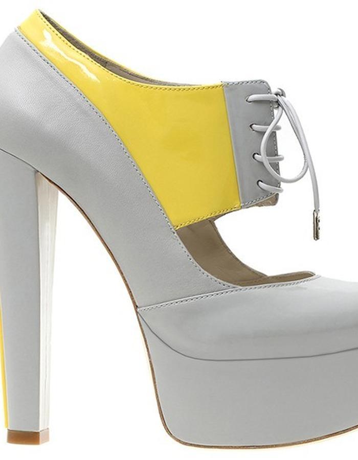 ALEPEL Pruga Grey/Yellow - Side