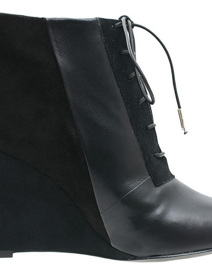 ALEPEL Strich Bootie Black - Side