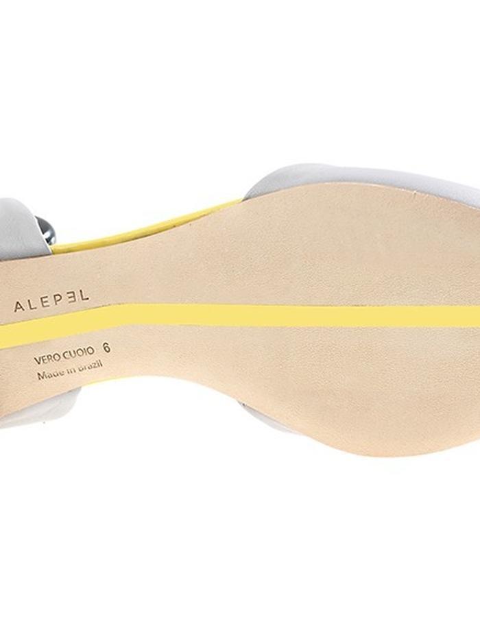 ALEPEL Versus D'Orsay Flat Grey - Sole
