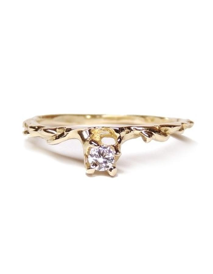 Solid 14ct gold and diamond