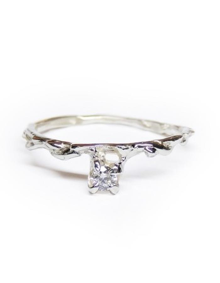 solid sterling silver and diamond