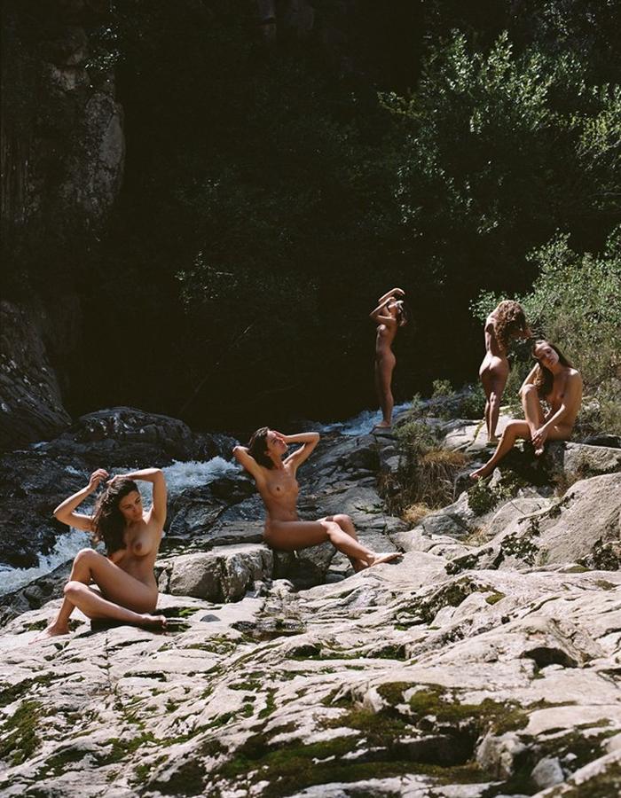Bathing Women by Paloma Wool