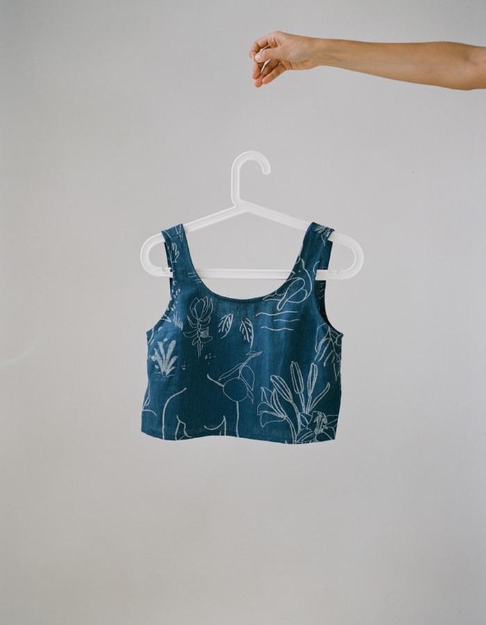 Misuri top & Diane skirt by Paloma Wool