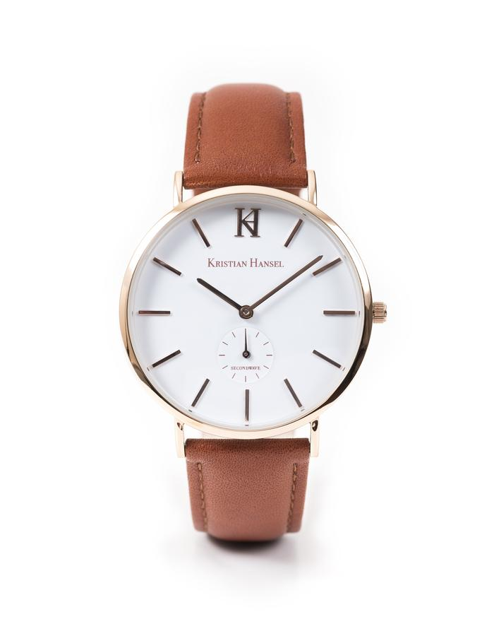 Hoxton - Brown & Rose Gold