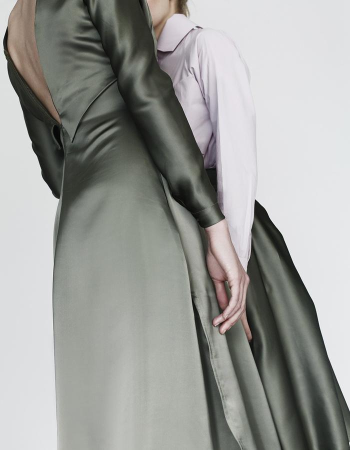 Origami dress, shirt, skirt YOJIRO KAKE  AW Japanese fashion designer based in Florence Italy