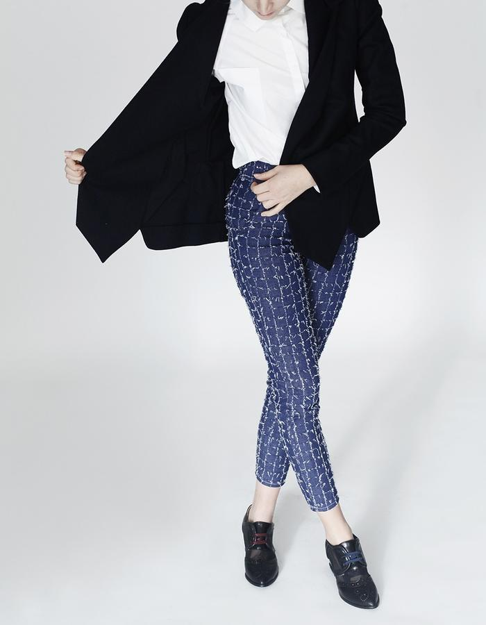 Origami shirt, blazer and trousers YOJIRO KAKE  AW Japanese fashion designer based in Florence Italy