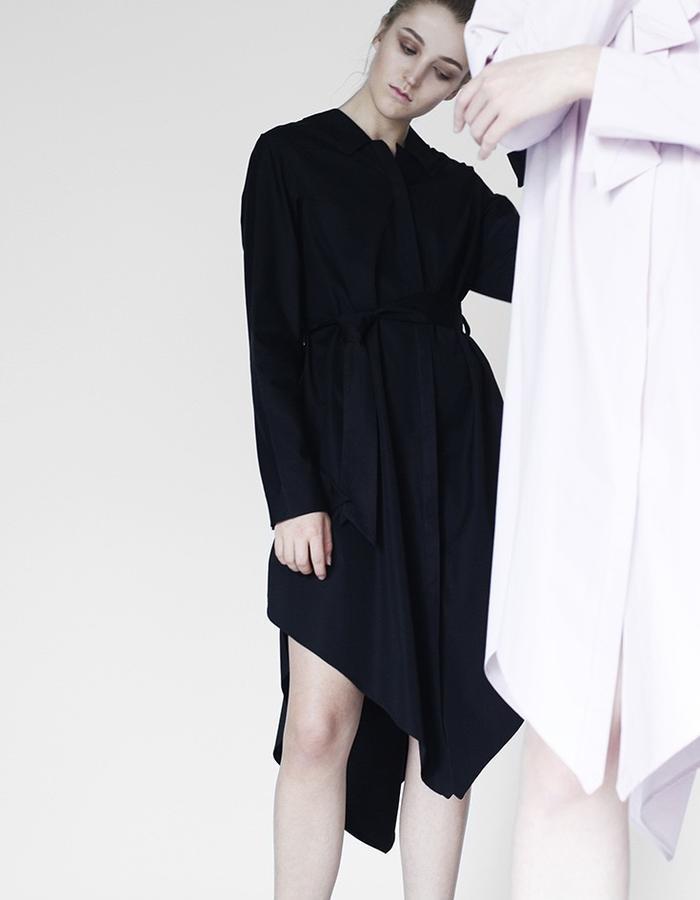 Origami midi shirts YOJIRO KAKE  AW Japanese fashion designer based in Florence Italy
