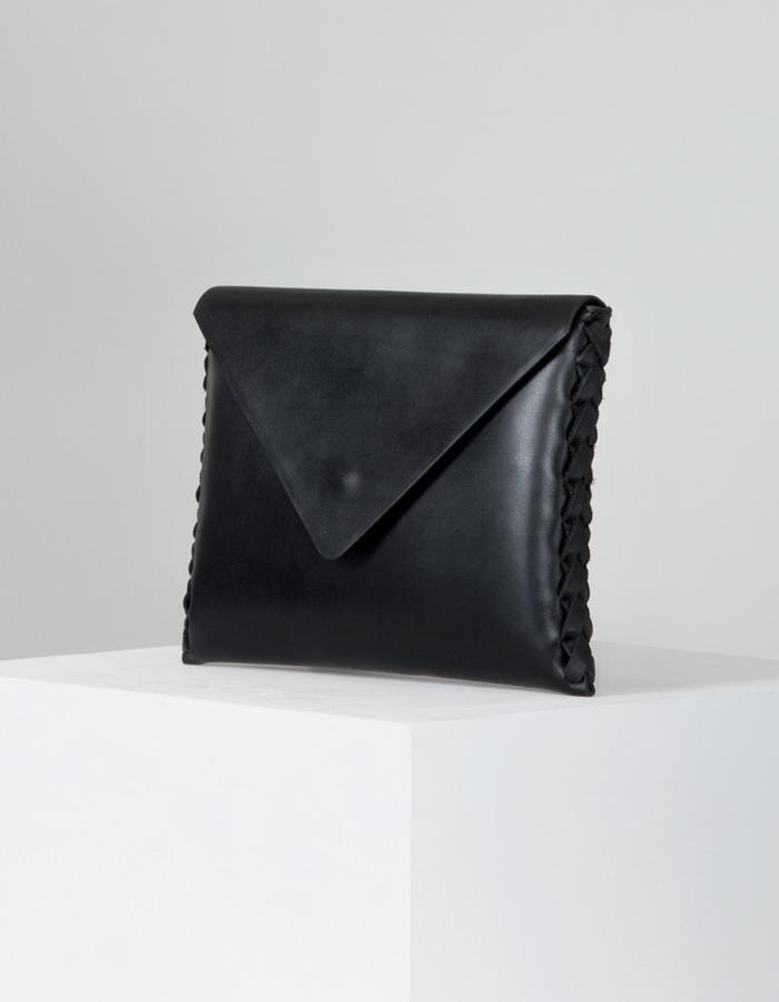 The Tara clutch by Annoukis - angle