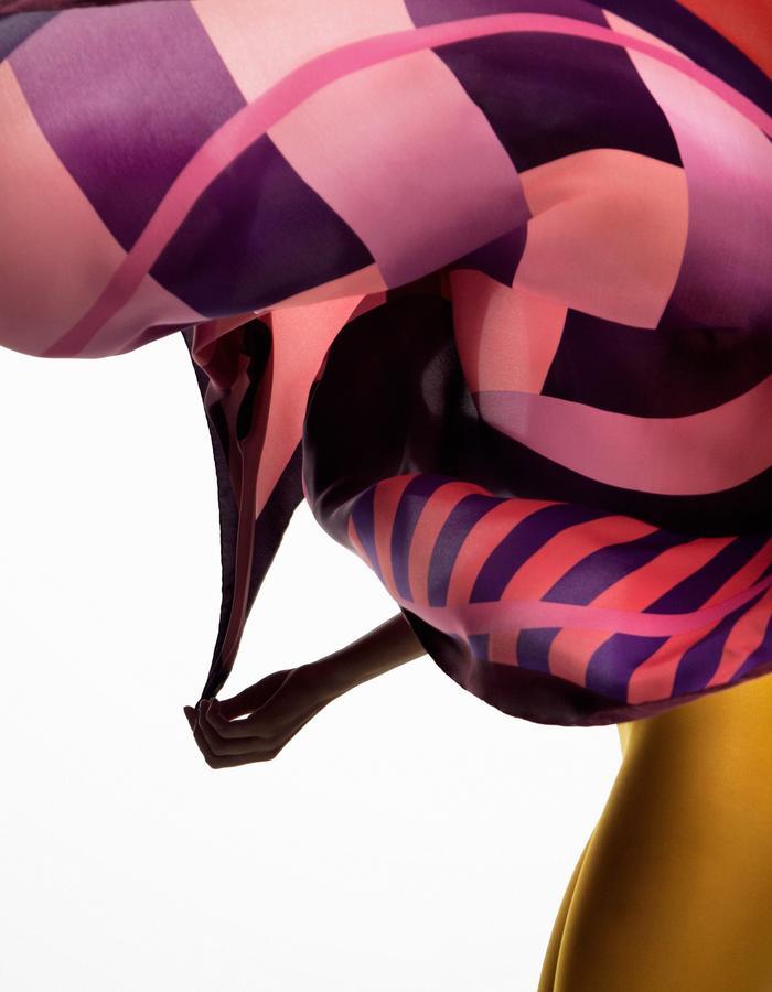 ODELLIN Square Twill Silk Scarf - Style ADI
