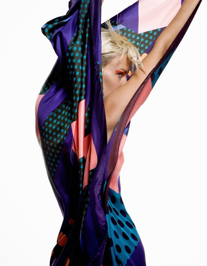ODELLIN Square Twill Silk Scarf - Style KYD