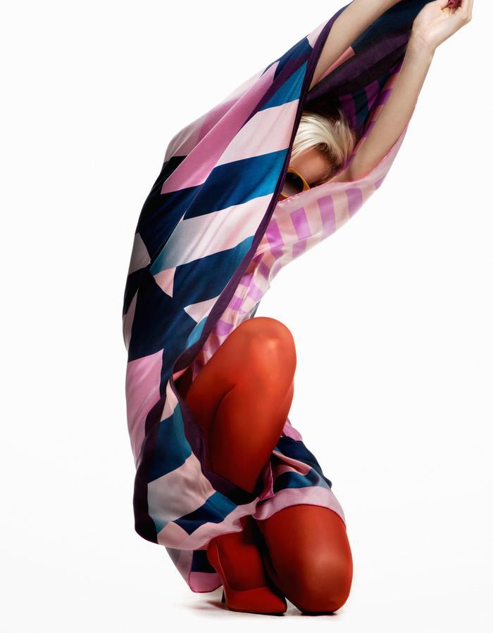 ODELLIN Square Twill Silk Scarf - Style RAE