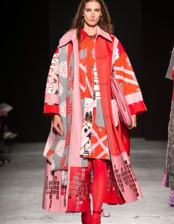 LOOK 6 FROM GRADUATE SHOW