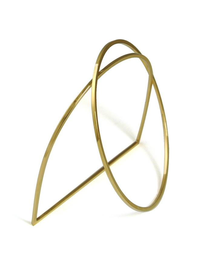 GOLD ARC BANGLE SET
