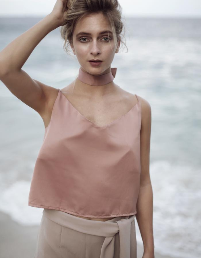 Coral Lola Top