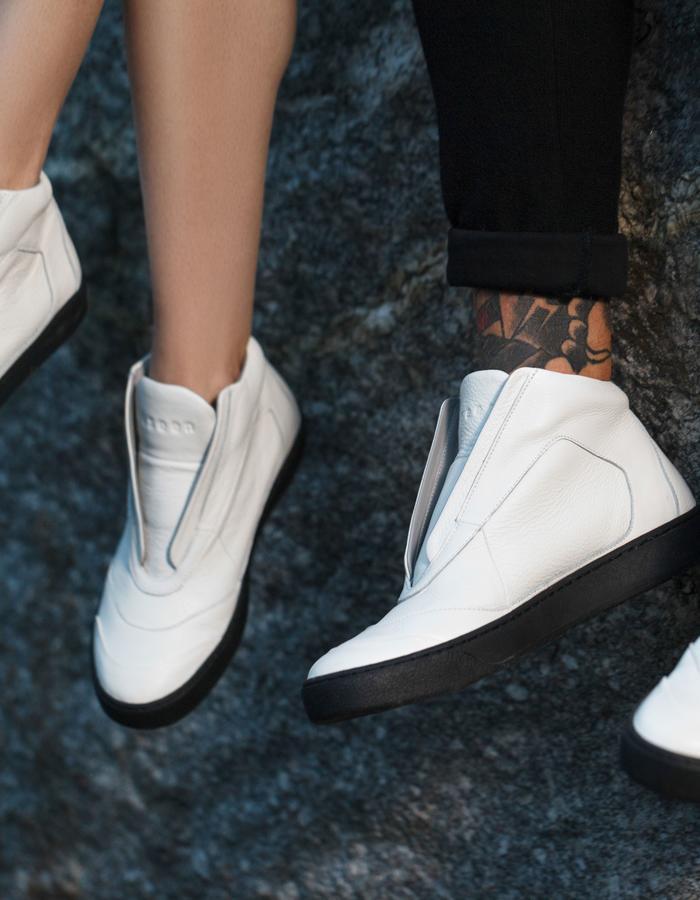 """u n s e e n """"White Whale"""" sneakers"""