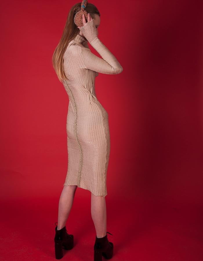 Cotton & viscose dress