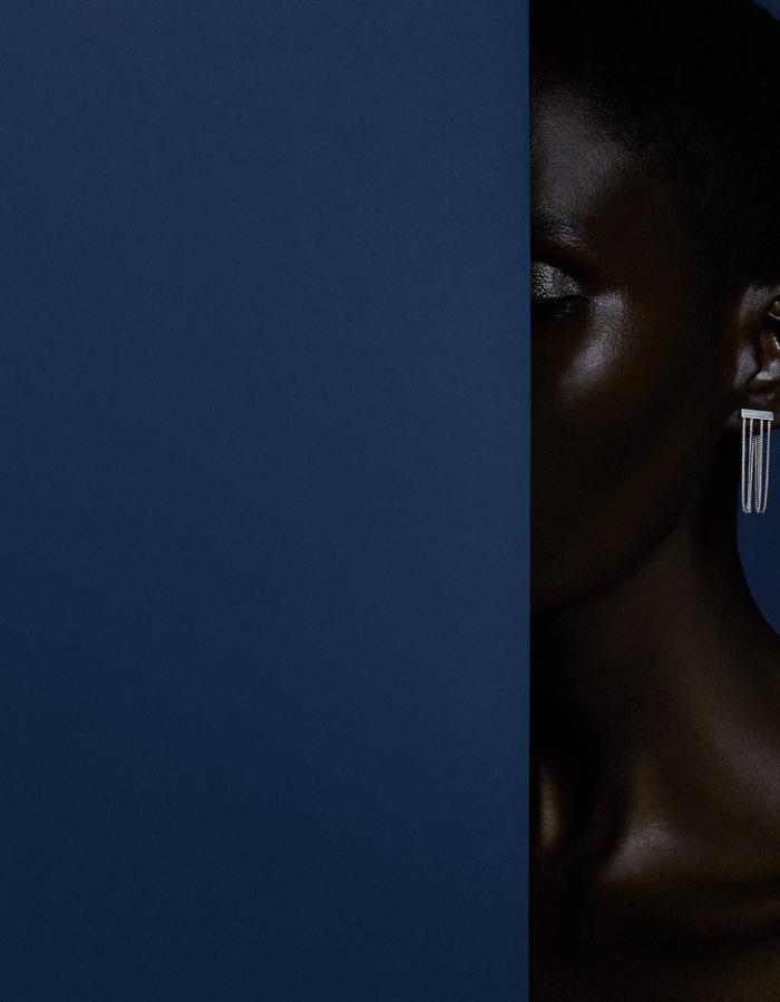 Levitate Earring - Ricardo Rivera Photographer - Biss Lau design