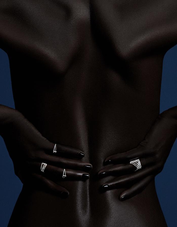 Cusp Ring, Abridged Ring - Ricardo Rivera Photographer - Biss Lau design