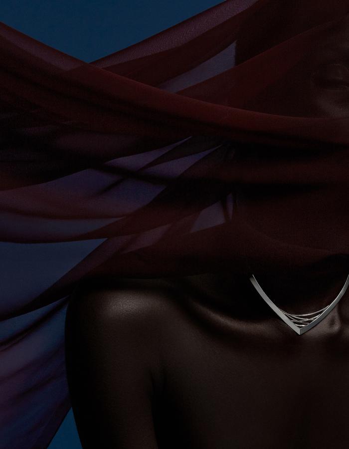 Suspension Necklace - - Ricardo Rivera Photographer - Biss Lau design