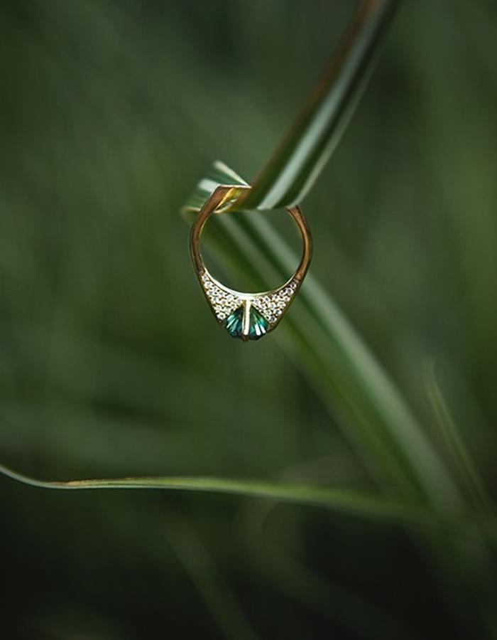 Minimalist Ring - shot by Keziban Berry