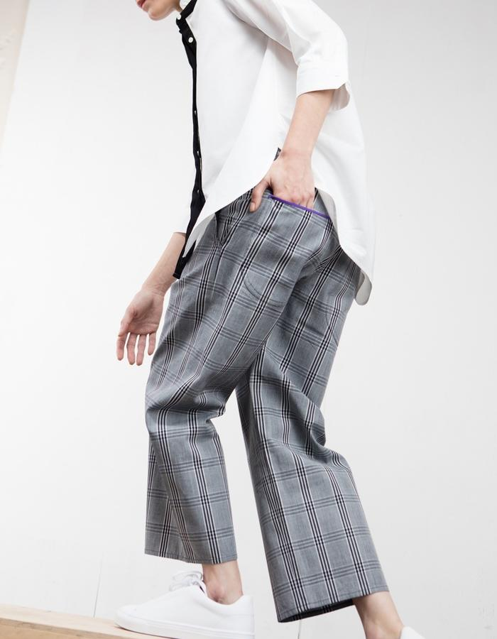 2WN Charles Glen Check Pants (#2WN #2WNwear #2WNStyle)
