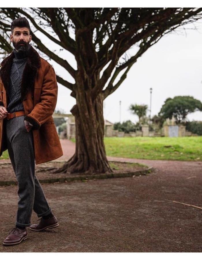Carlos Costa wearing Stig Percy