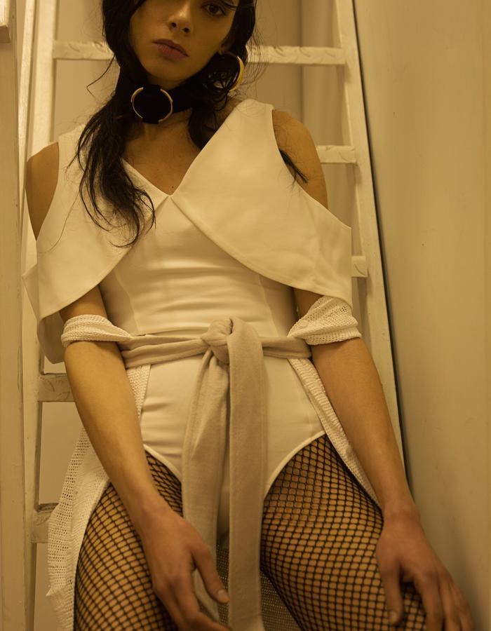 """2 """"Outerwear"""" Ambra Castello"""