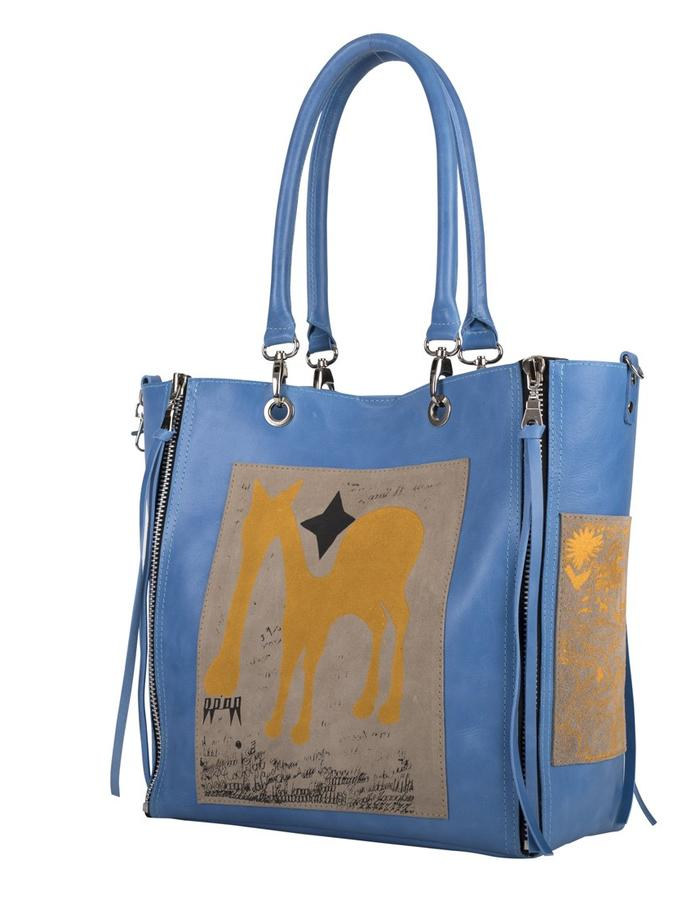 Arty Bag handbag serigraphy art brut